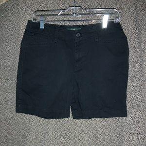 Lauren RL Black Shorts Size 6P
